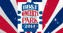 Concerts in Park website