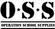 Operation School Supplies TShirt Design